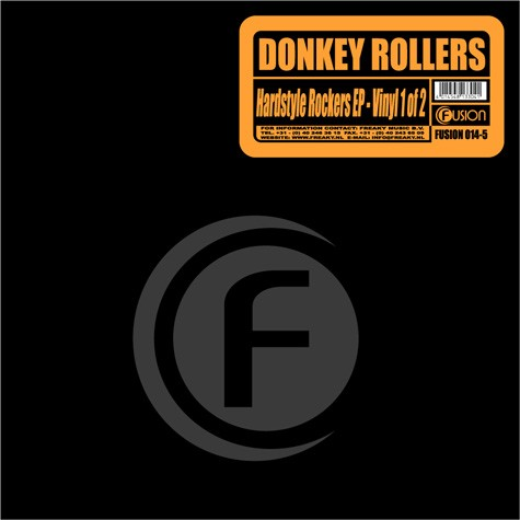 Donkey Rollers - Hardstyle Rockers EP Part 1