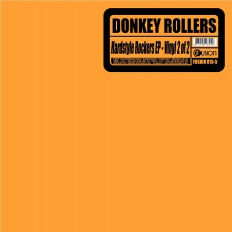 Donkey Rollers - Hardstyle Rockers EP Part 2