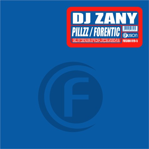 Dj Zany - Pillzz / Forentic