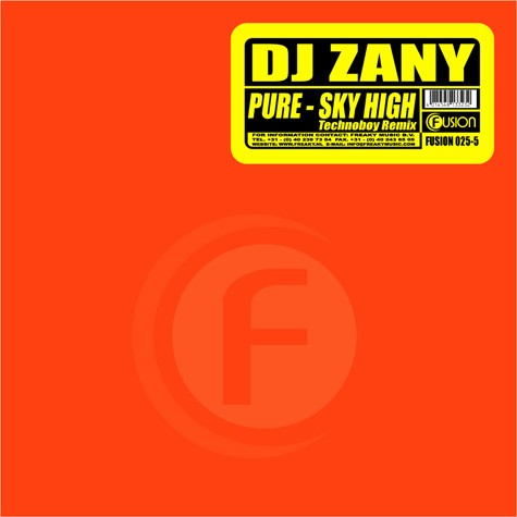 DJ Zany - Pure / Sky High (Technoboy Remix)